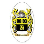 McCambridge Sticker (Oval 10 pk)