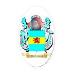 McCalman Oval Car Magnet