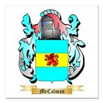 McCalman Square Car Magnet 3