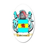McCalman 35x21 Oval Wall Decal