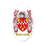 McCally Oval Car Magnet