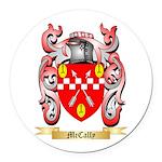 McCally Round Car Magnet