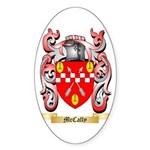 McCally Sticker (Oval 50 pk)