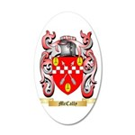 McCally 20x12 Oval Wall Decal