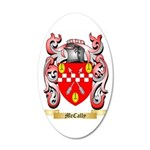 McCally 35x21 Oval Wall Decal