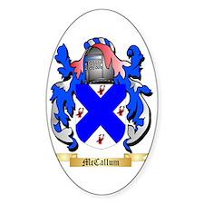 McCallum Sticker (Oval)