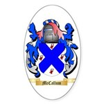 McCallum Sticker (Oval 10 pk)