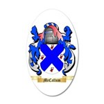 McCallum 35x21 Oval Wall Decal