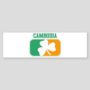 CAMBODIA irish Bumper Sticker