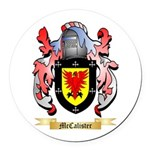 McCalister Round Car Magnet