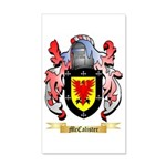 McCalister 35x21 Wall Decal