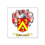 McCairtair Square Sticker 3