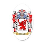 McCaghy Oval Car Magnet
