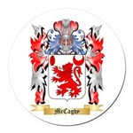 McCaghy Round Car Magnet