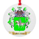 McCaffrey Round Ornament