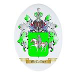 McCaffrey Oval Ornament