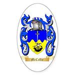 McCaffie Sticker (Oval 50 pk)