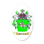 McCafferty Oval Car Magnet
