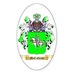 McCafferty Sticker (Oval)