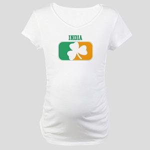 INDIA irish Maternity T-Shirt