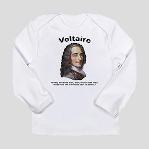Voltaire Christian Long Sleeve Infant T-Shirt