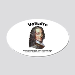 Voltaire Christian 20x12 Oval Wall Decal