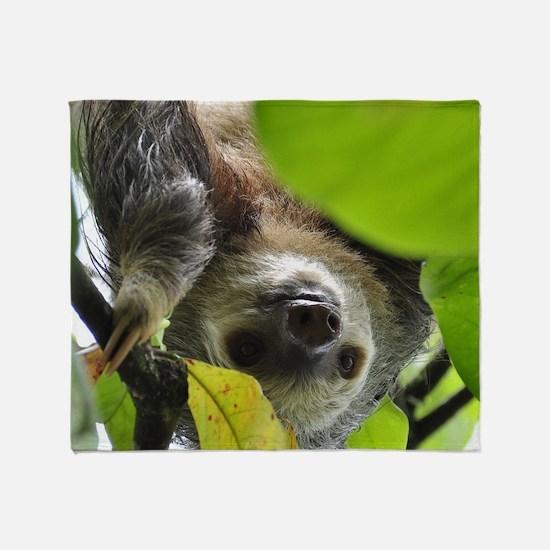 Sloth_20171105_by_JAMFoto Throw Blanket