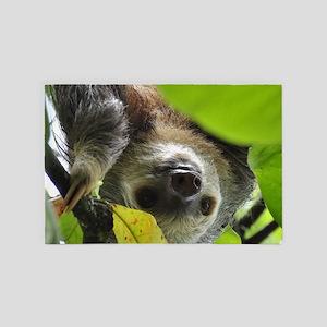 Sloth_20171105_by_JAMFoto 4' x 6' Rug