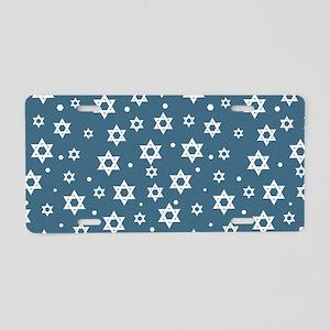 Hebrew Hope Aluminum License Plate