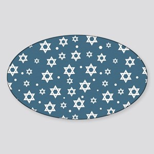 Hebrew Hope Sticker (Oval)