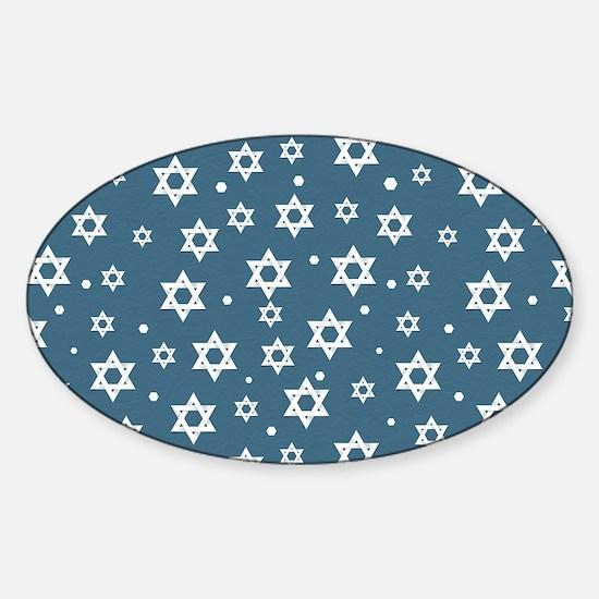 Hebrew Hope Sticker (Oval)