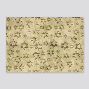 Jewish Blessings 5'x7'Area Rug