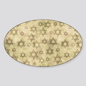 Jewish Blessings Sticker (Oval)