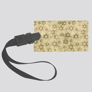 Jewish Blessings Large Luggage Tag
