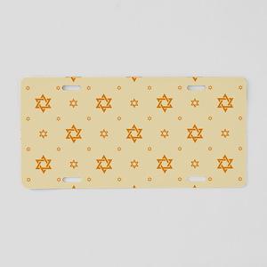 Jewish Hope Aluminum License Plate