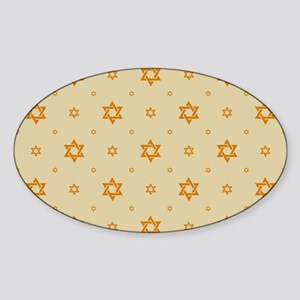 Jewish Hope Sticker (Oval)