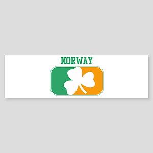 NORWAY irish Bumper Sticker