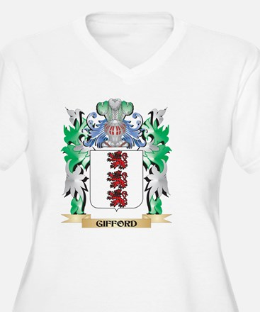 Gifford Coat of Arms (Family Cre Plus Size T-Shirt