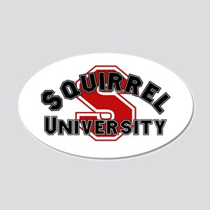 Squirrel University Wall Decal
