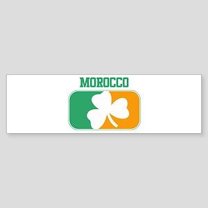 MOROCCO irish Bumper Sticker