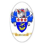 McCaet Sticker (Oval 50 pk)