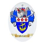 McCaet Oval Ornament