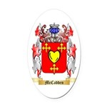 McCadden Oval Car Magnet