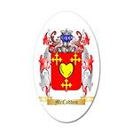 McCadden 35x21 Oval Wall Decal