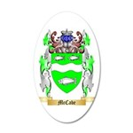 McCabe 35x21 Oval Wall Decal