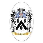 McBurnie Sticker (Oval 10 pk)