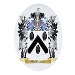 McBurnie Oval Ornament
