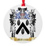 McBurney Round Ornament