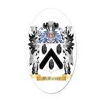 McBurney Oval Car Magnet