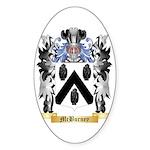 McBurney Sticker (Oval 50 pk)